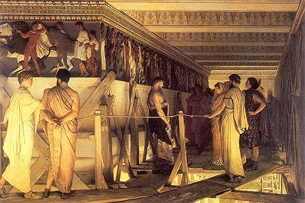 an analysis of pericles speech to athenian citizens Pericles is a famous character out of the history of classical greece this sample essay explores the writings of pericles about the effects of the peloponnesian war on the people of athens.